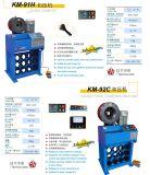 Schlauch-quetschverbindenmaschine Km-91h-5 für hydraulischen Schlauch 2inch
