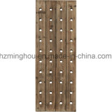 Excelente decorativo 40-Bottle Hotel Wall Mounted Wood Bottle Wine Rack