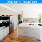 Cozinha elevada moderna da mobília modular do revestimento do lustro