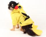 Crabot Hoodie de Pokemon de crabot de Pikachu en jaune