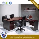 Oficina de la manera elegante escritorio de madera para muebles de oficina (HX-FCD070)