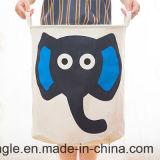 Heiße Art 2016! Segeltuch-netter faltbarer Baby-Spielzeug-Speicher Bag&Laundry Fessel-Beutel für Gsal1127