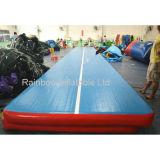 Trilha de ar inflável do colchão da ginástica do projeto quente com logotipo