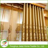 Drapejar cortinas luxuosas da valência do poliéster das cortinas para o quarto