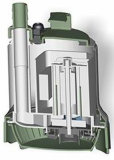 Teich-Pumpe des magnetischen Laufwerk-110V