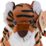 Tigre de jouet d'animaux sauvages de peluche de peluches