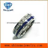 De Juwelen Zircon van Shineme en de Blauwe Populaire Ring van de Lijm