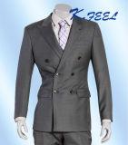 Vestiti Three-Piece grigi di affari degli uomini su misura classici di cerimonia nuziale