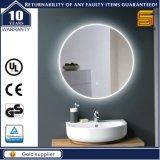 Specchio chiaro fissato al muro impermeabile approvato della stanza da bagno di ETL LED