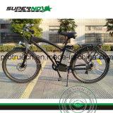Bicicleta eléctrica con guardabarros de plástico para los hombres de la ciudad