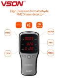 高品質の有害なガスのテスターHcho及びTvoc及びPm1/Pm2.5/Pm10空気探知器