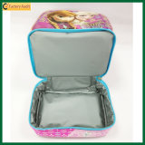 Due sacchetti termici belli del dispositivo di raffreddamento del pranzo dei sacchetti di strato per il bambino (TP-CB376)