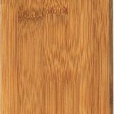 Plancher en bambou solide carbonisé vertical