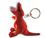 Felpa animal suave Keychain