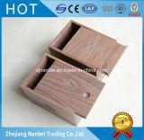Cadres en bois de souvenir de boîte-cadeau de noix faite sur commande de logo