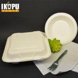 Envase de alimento respetuoso del medio ambiente biodegradable disponible del 100%