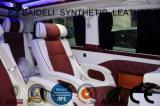 Cuoio sintetico del PVC di disegno classico per la decorazione coperta ed interna della sede di automobile