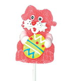 クリスマスおよびバレンタインのための3D漫画のゼリーの破裂音キャンデー