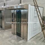 Four rotatoire diesel de plateaux de l'acier inoxydable 16 de vente d'usine pour la boulangerie