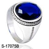 Anel de anel de diamante de prata 925 anel de homem Ring Ring