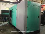 тип генератор резервной силы 400kVA 320kw звукоизоляционный молчком дизеля Cummins