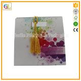 Bolso de encargo del regalo del papel grande con la venta al por mayor de la impresión de la insignia
