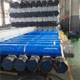 Tubulação de água galvanizada mergulhada quente da programação 40 do material de construção