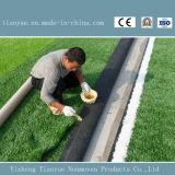 排水の穴が付いているフットボールの人工的な泥炭