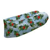 Saco de dormir inflable plegable al aire libre del sofá del aire de la impresión del ocioso portable