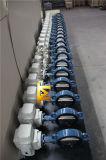Клапан-бабочка CF8m электрическая сработанная с ISO одобренным Wras Ce