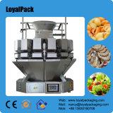 Multiheadの計重機が付いている自動香料入りの茶パッキング機械中国製