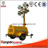 Diesel van de Toren van Ce ISO Lichte Stille Generator voor Slechte Weg