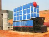2 T / H تعبئتها الصلبة المراجل البخارية الوقود للتطبيقات الصناعية