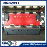 2016 frenos estándar de la prensa del CNC de Europa de la venta caliente/dobladora hidráulica del metal de hoja