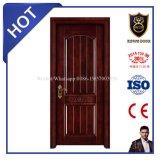 Европейская входная дверь твердой древесины типа