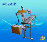 Planta de fabricación automática portable máquina de la marca del vuelo del laser para el plástico