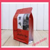 Kundenspezifische der acht Rand-Dichtung Beutel-Nahrung für Haustiere sackt Kunststoffgehäuse-Beutel ein