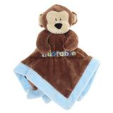 Cobertor feito sob encomenda do animal enchido do cobertor do bebê do luxuoso para bebês