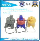 Bocal plástico da braçadeira do acoplador rápido de pulverizador de água da braçadeira de G do tratamento do chapeamento