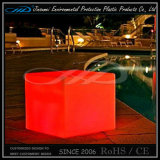 PE 물자 LED 옥외 LED 가벼운 의자 LED 입방체