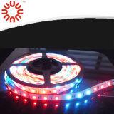 Luz de tira impermeável do diodo emissor de luz de SMD3528 SMD2835 SMD5050 SMD5630 RGB
