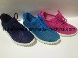 Breathable верхние ботинки впрыски холстины размеров женщин с Customied (FFDL1112-01)