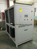 Luft des R410A Gas-25HP kühlte Glykol-Wasser-Kühler für Film-Laminat-Maschine ab