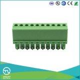Ma1.5/V3.50 Blok 3.5mm (van 3.81) PCB pitchplug-in het EindBlok van PCB