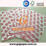 Papel translúcido impreso OEM para el acondicionamiento de los alimentos con buen precio