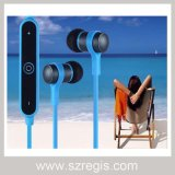 Do metal estereofónico do macarronete dos esportes fone de ouvido sem fio dos auriculares de Bluetooth