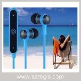Estéreo Deportes fideos metal Auricular inalámbrico Bluetooth para auriculares