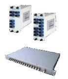 통신망 U-Senda를 위한 섬유 광학적인 DWDM OADM 모듈