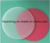La tarjeta de Corflute del plástico del verde 4m m 5m m 6m m/impermeabiliza/Pringting/el cortar con tintas con la impresión 1220*2440m m