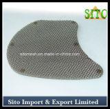 Disco plástico do filtro do engranzamento de Wre do aço inoxidável com forma do rim